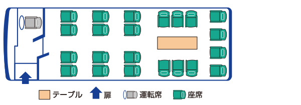 224座席図