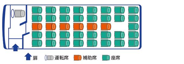 559座席図