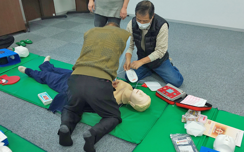 救命救急講習の実施